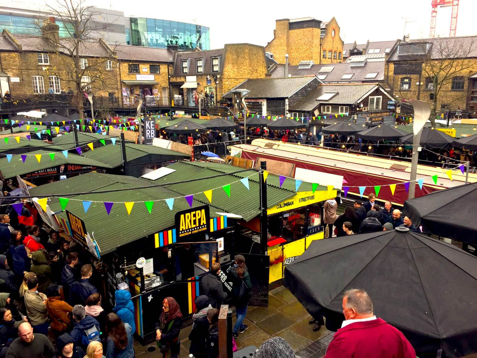 Let's Meet & Eat London Camden Town Market